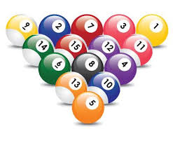 pool table balls clipart. Modren Pool Triangle From Fifteen Billiard Balls Stock Vector  8679661 Intended Pool Table Balls Clipart E