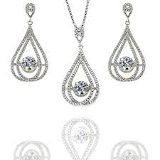 earrings nana sterling silver cz dangle dancing diamond chandelier