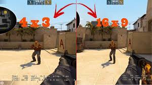why cs go players use 4 3 stretched