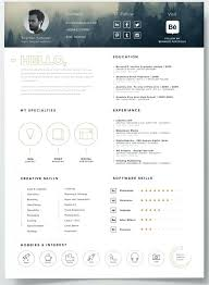 Modern Resume Template Free Free Resume Template Icons Self ...