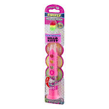 Light Up Toothbrush For Adults Firefly Ready Go Brush Hello Kitty Soft Light Up Timer