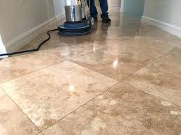how to polish travertine floors cleaning tile floor tumbled best way to polish travertine floors
