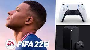 Kylian Mbappe auch auf dem Cover von Fifa 22