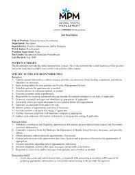 Patient Care Technician Job Description For Resume Best Business