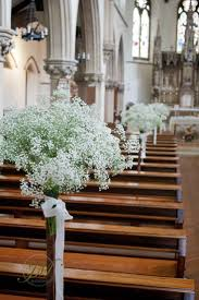 flower stands for weddings. flower stands decorated with gypsophila. church wedding ceremony.   j and h pinterest ceremony, gypsophila weddings for c