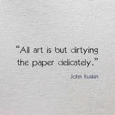 Drawing quote by John Ruskin | Young Drawings via Relatably.com