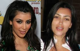 but kim does have two very diffe looks red carpet kim and regular kim look nothing alike but maybe we wouldn t either if we were walking down a