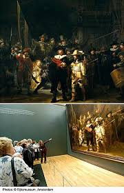 night watch famous painting by rembrandt