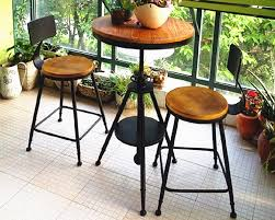 yong continental iron creative leisure indoor tall coffee table chair cafe tables and chairs combination