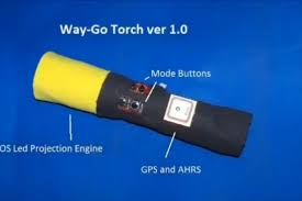 2012 Light Flashlight Plus Way Go Torch Flashlight Uses Gps To Guide You In The Dark