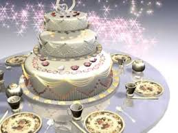 Cake Video Motion Graphic Animated Background Free Video