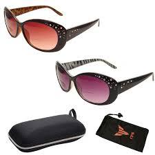 Designer Sun Readers Women Fashion Designer Oversized Lenses Bifocal Sun Readers Sunglasses Reading Glasses With