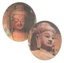 Культура средневекового Китая История Средних веков Реферат  Будда v в сверху и vii в снизу