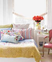 design your bedroom. bed covered with pillows design your bedroom