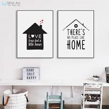 Family room wall art Creative Room Wall Art Picture Home Black White Minimalist House Family Love Quote Poster Print Nordic Home Design Ideas Family Room Wall Art Home Design Ideas