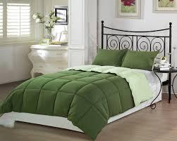 solid green comforter set
