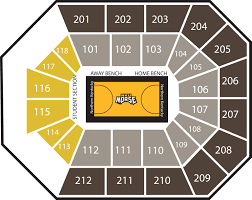 Nku Seating Chart Seating Charts The Bb T Arena At Northern Kentucky University