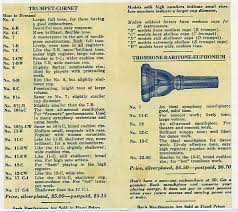 Bach Trumpet Mouthpiece Chart What To Know About The Vincent Bach Mouthpiece Trumpet Planet