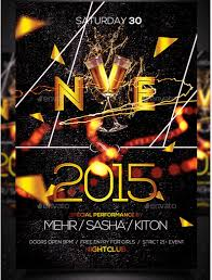 New Year Flyers Template 50 Super Cool New Year Party Flyer Templates Design Freebie