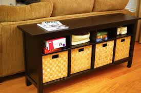 black console table with storage. Sofa Outstanding Black Table With Storage Tables Console