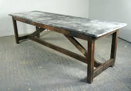 top coffee table zinc zinc