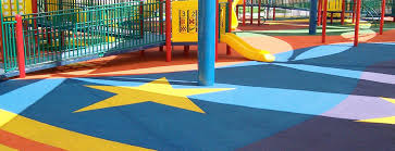 playground track ultimate rb source rubber flooring for playground designs