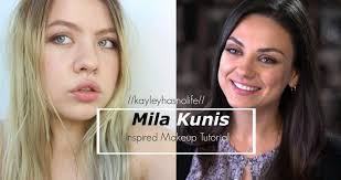 bad moms mila kunis amy inspired makeup tutorial brown smokey eye you