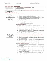 Rn Resume Template Free Examples General Resume Template Free New It