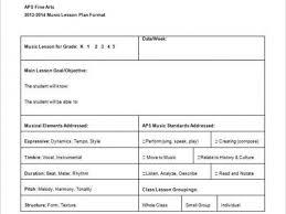 Download Free Lesson Plan Templates Mini Lesson Plan Format Free