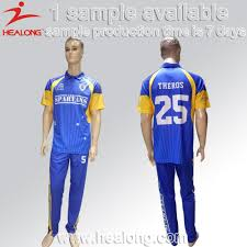Cricket Kit Design Online Healong New Design Cricket Jersey Pattern Design New