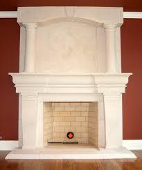 atlanta overmantel fireplace cast stone cast stone mantle georgia