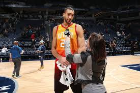 Utah Jazz center Rudy Gobert feels ...
