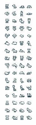 Animals Cute Kawaii а татуировки маленькие татуировки и