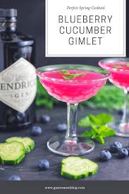 blueberry cuber gimlet recipe gin cubers blueberries lime juice and simple syrup mint from the gardens this tail is a twist on the clic