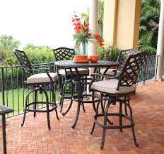 St. John <b>5 Piece Outdoor Bar</b> Set - Kane's Furniture