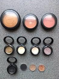 mac makeup bundle eyeshadows bronzer blusher 1 of 5 see more