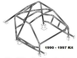roll cage kit 1990 1997