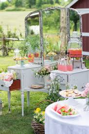 a lovely garden birthday party