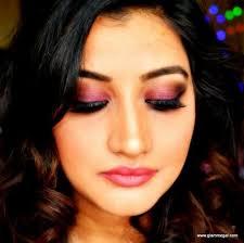 cranberry smokey eyes makeup tutorial