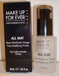 makeup forever all mat face matifying primer sometimes you need a little more than just a primer alone this silicone based primer bines the benefits of
