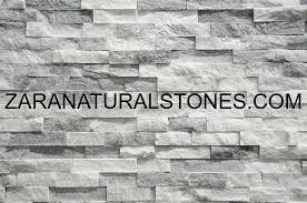 snow grey decorative wall stone
