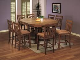 rustic round counter height table pretty design ideas rustic counter height dining table sets all on