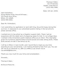Cover Letter Law Firm Sample Cover Letter Law Firm Cover Letter Law