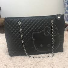 Hello Kitty - Hello Kitty Embossed Tote from Ana's closet on Poshmark & ... Hello Kitty Quilted Purse Adamdwight.com