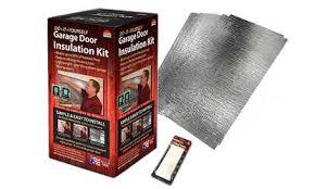 groupon reach barrier garage door insulation kit