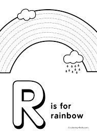 Letter R Coloring Pages Alphabet Words Chronicles Network