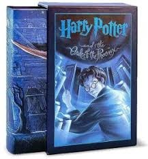 harry potter and the order of the phoenix by j k rowling cover art