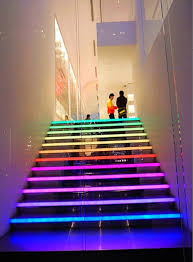 neon lighting for home. Some Home Design Ideas For You \u2013 LED Staircases Neon Lighting Dhalia