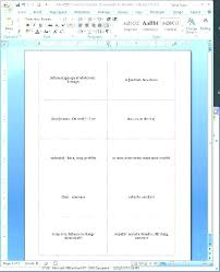 Index Card Word Template Blank Index Card Template Thepostcode Co