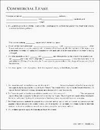 Contract Template Word Stunning Free Mercial Lease Agreement Template Word Free Mercial Lease Rental